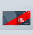 catalog template layout design corporate business vector image vector image