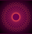 flower of life sacred geometry abstract vector image vector image