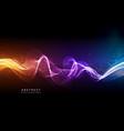 hi-tech futuristic techno background neon shapes vector image vector image