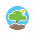 tree logo or icon vector image