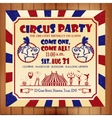 Circus sat vector image