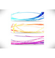 Collection of three internet headers vector image