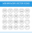 127 icons shopping src vector image vector image