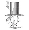 cylinder line shading cross-contour drawing uses vector image vector image