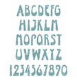 Retro winter font