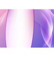 Violet vivid background with transparent waves vector image vector image