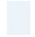 White squared blank white paper sheet vector | Price: 1 Credit (USD $1)