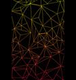 bright abstract hand drawing internet cobweb vector image vector image
