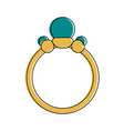 engagement ring icon image vector image vector image