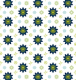 Floral pattern texture background vector image vector image