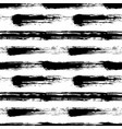 grunge painted striped pattern vector image vector image