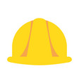helmet construction isolated icon vector image