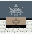logo Clothing made of fur and leather The texture vector image vector image