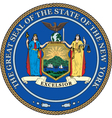 New York State Seal vector image vector image