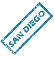 San Diego rubber stamp vector image vector image