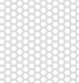 Seamless White Hexagon Texture vector image vector image