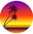 summer seaside background vector image