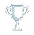 trophy winner sport award champions vector image vector image