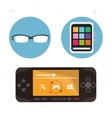 wearable technology portable devices collection vector image