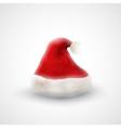 Santa Claus hat vector image