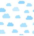 baby boy blue clouds pattern background