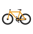 bike icon on isolated background vector image