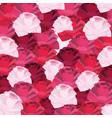 cute roses pattern cartoon vector image