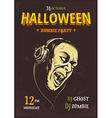 Halloween Poster 6 vector image vector image