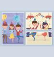 happy people dancing enjoy celebration party vector image