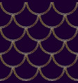 mermaid tail texture fish scale seamless pattern vector image vector image