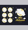 mid autumn festival design template rabbit