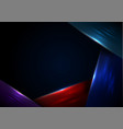 modern dark bg vector image