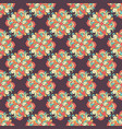 seamless hand drawn pattern with ethnic vector image