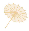 traditional japanese or chinese umbrella vector image vector image