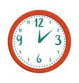 Wall clock icon in cartoon style vector image vector image
