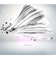 Abstract Metal Techno Background vector image vector image