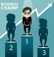Business Champ vector image vector image