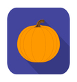 Flat design icon for Halloween vector image