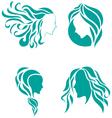 hair fashion icon symbol female beauty