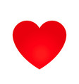 heart shape symbol vector image