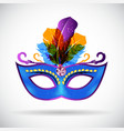 Masquerade Carnival Mask Icon vector image