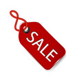 sale tag label icon vector image