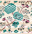 seamless nature pattern background with vector image