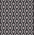 seamless pattern with geometric zigzag and small vector image vector image