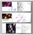 the minimal of editable layout abstract hi vector image vector image