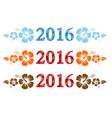 2016 Aloha vector image vector image