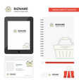 basket business logo tab app diary pvc employee vector image vector image