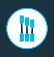 chisel icon colored symbol premium quality vector image vector image