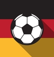 football icon with Germany vector image vector image
