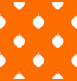 quince fruit pattern seamless vector image vector image